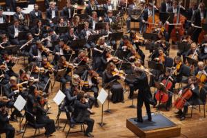 Cleveland Institute of Music Orchestra Yoel Levi, conductor Cihat Askin, violin Caroline Goulding, violin Raphael Wallfisch, cello Rabbi Roger C. Klein, host Photo By Roger Mastroianni